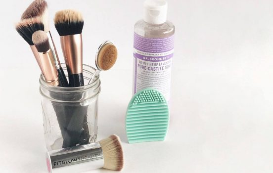 How to Naturally Clean Your Makeup Brushes for $3