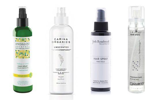 Project Organically Smash Part 1: Testing Organic Hairsprays
