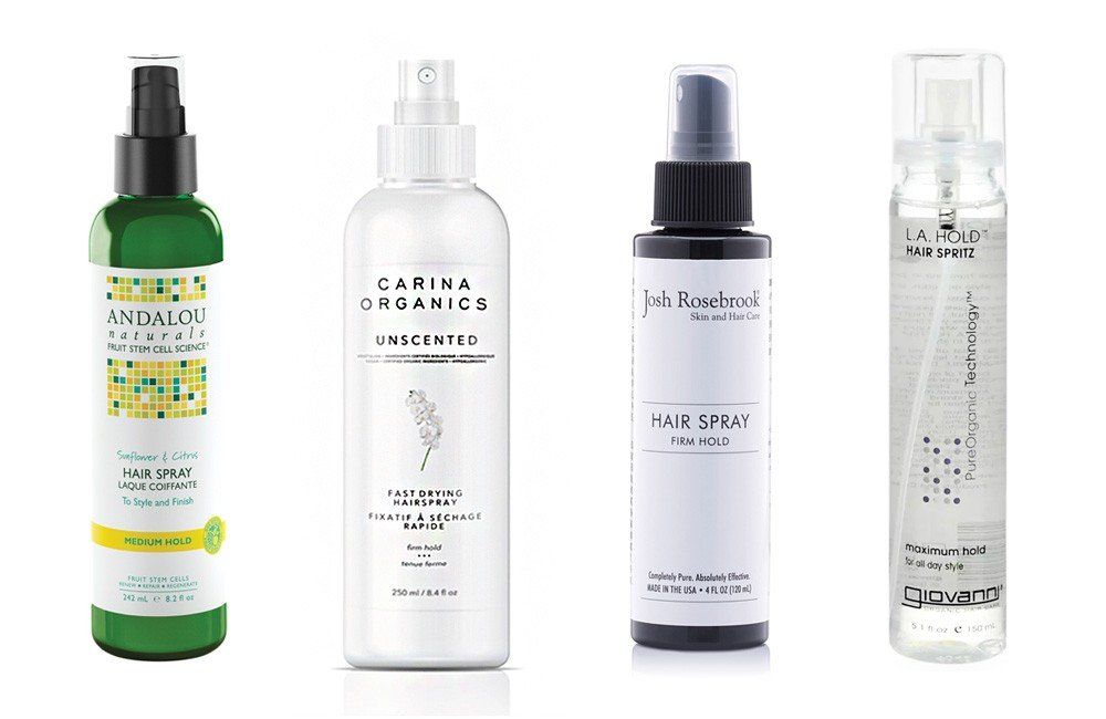 Best Organic Hairsprays