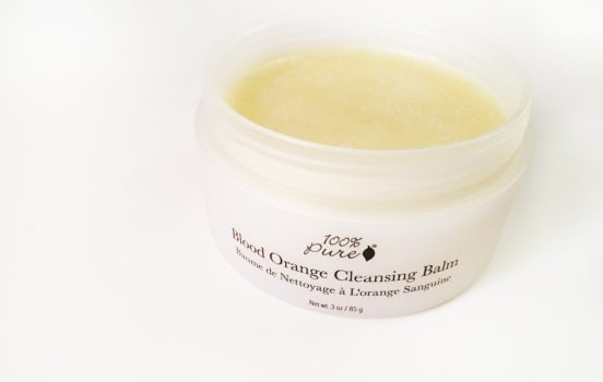New Product Alert: 100% Pure Blood Orange Cleansing Balm