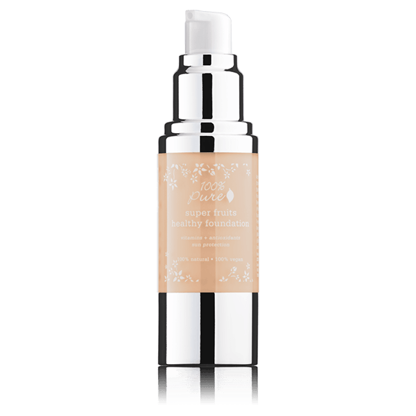 100% Pure Fruit Pigmented Liquid Foundations