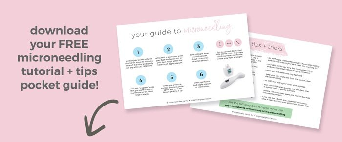 Benefits of Microneedling (Derma Rolling) • Organically Becca