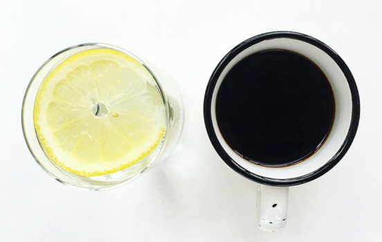 Why I Drink Water Before My Morning Coffee (+ Lemon Water Benefits)