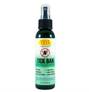YAYA Organics Tick Ban