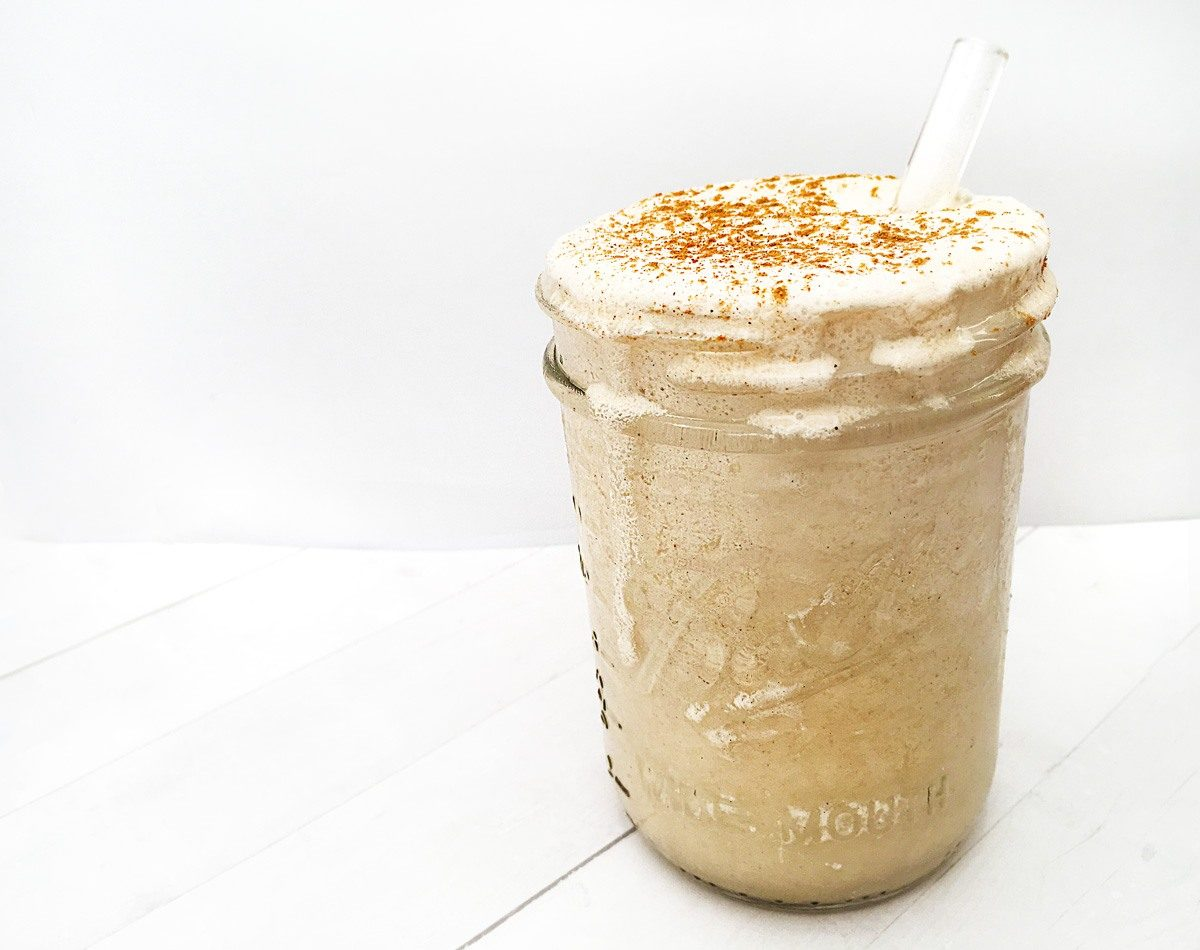 Recipe: Creamy Coconut + Collagen Cold Brew Frappé