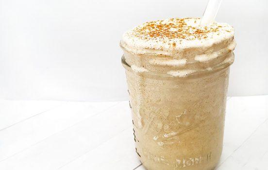 Recipe: Creamy Coconut + Collagen Cold Brew Frappé