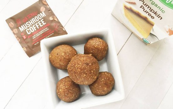Recipe: Pumpkin Spice Latté Fat Balls (with Collagen + Superfoods!)