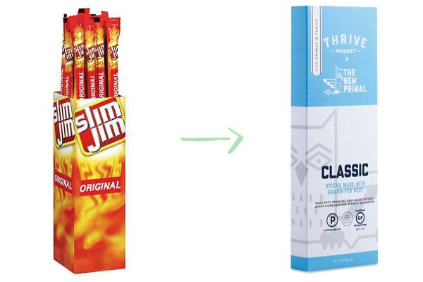 Slim Jim New Primal Beef Sticks