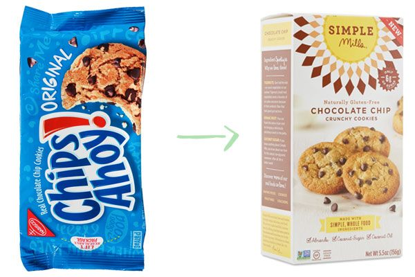 Chips Ahoy Simple Mills Cookies