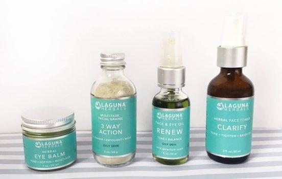 Introducing: Laguna Herbals Organic Skincare Products