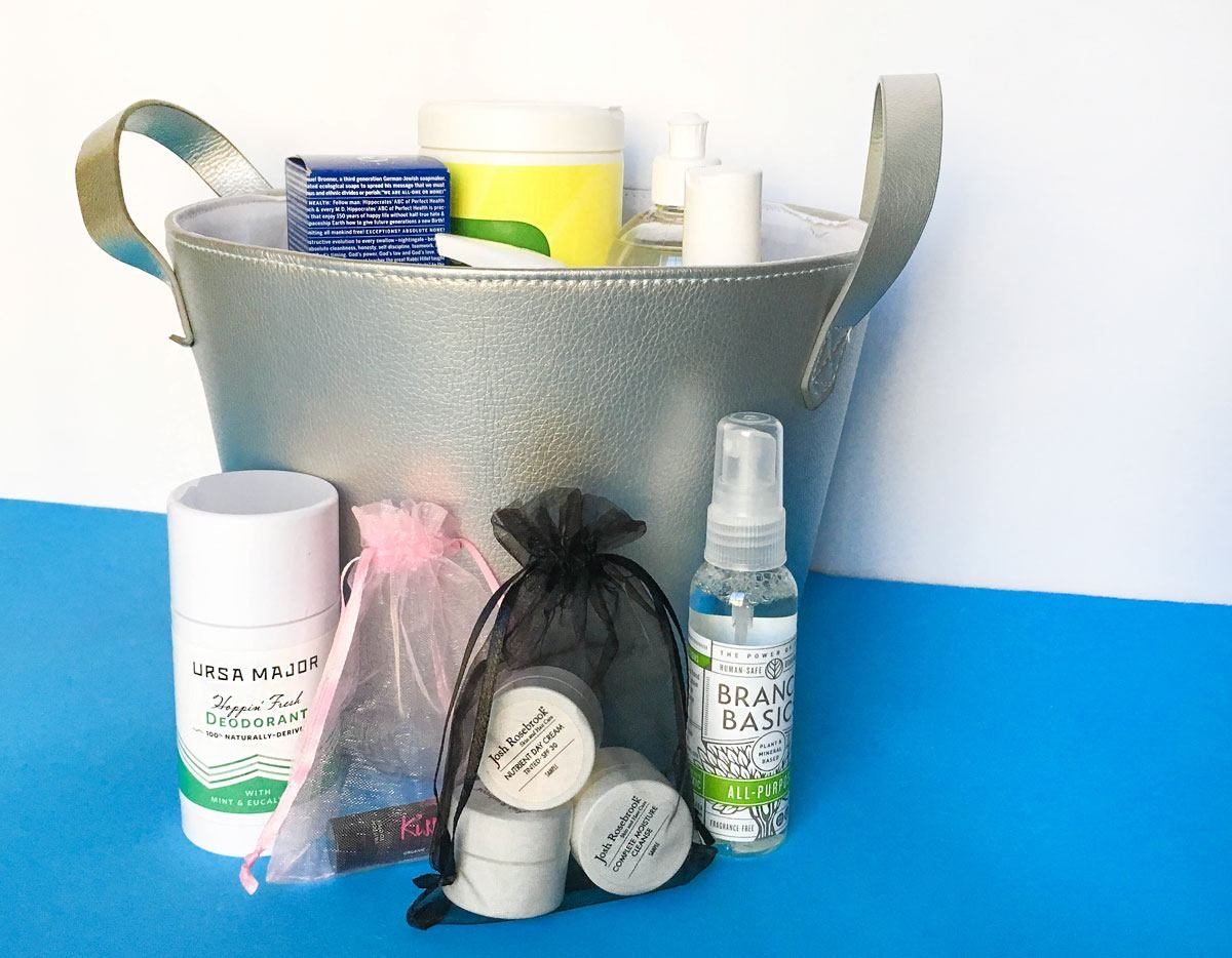 Green Gift Bag: Swapping Out 10 Everyday, Conventional Products for Natural, Organic Products