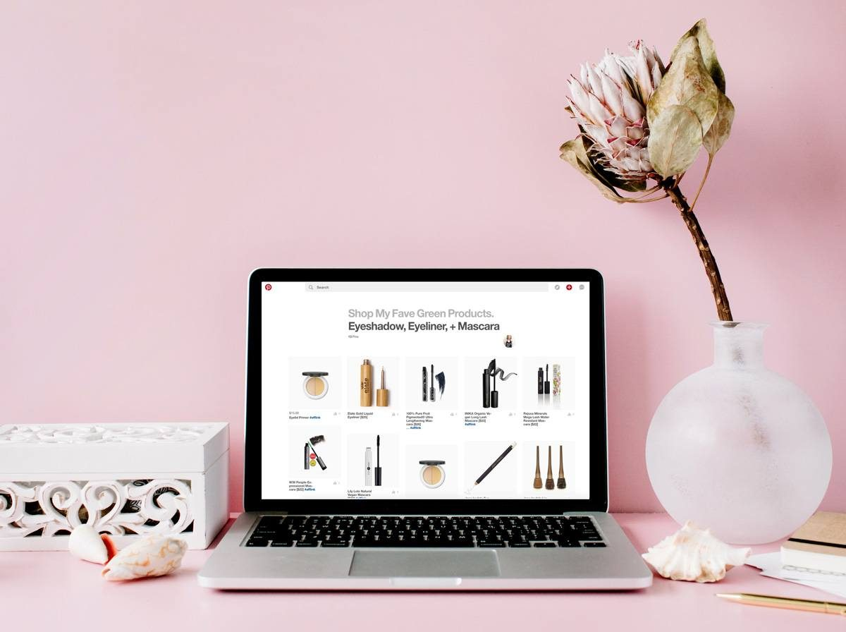 Shop My Fave Products on Pinterest