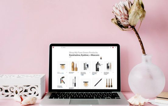 Shop My Fave Green Beauty + Healthy Living Products Through Pinterest!