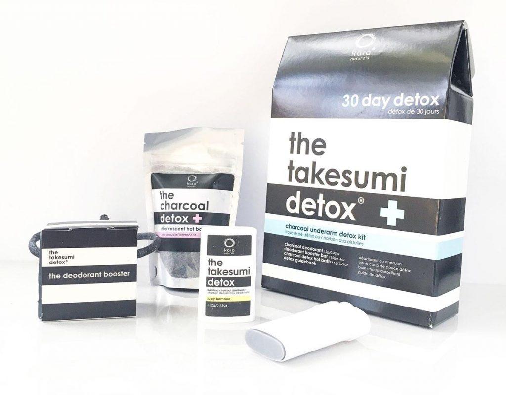 Kaia Naturals Charcoal Detox Kit