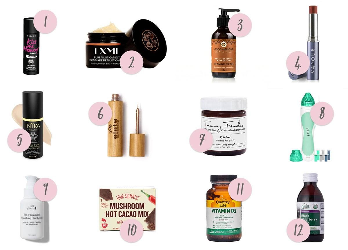 Organically Becca Winter Faves