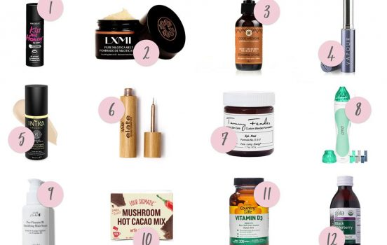 Winter is Coming: 12 Best Organic Health + Beauty Products of the Season