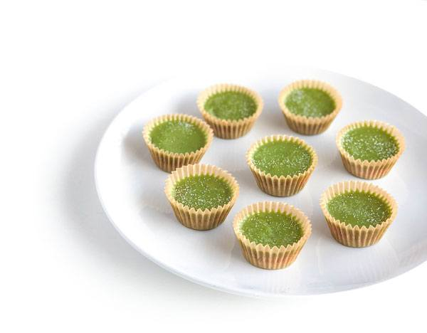 Organically Becca Matcha Peanut Butter Cups