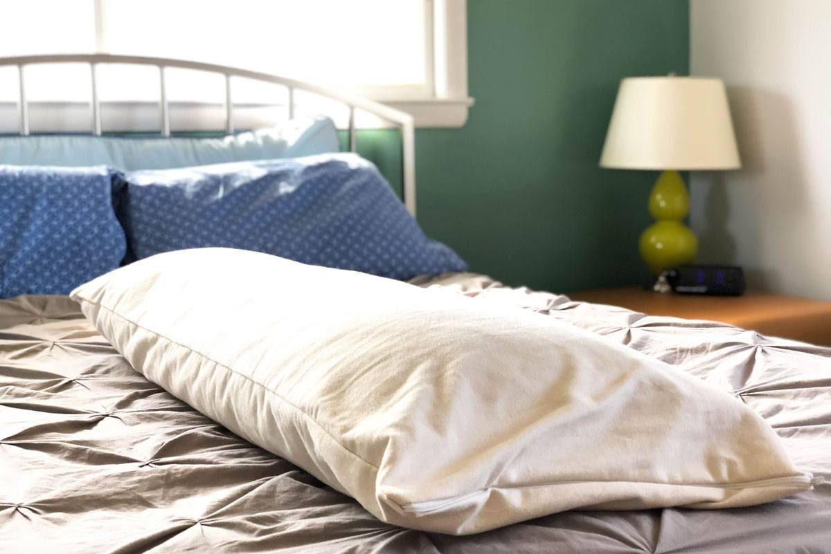 Savvy Rest Organic Kapok Body Pillow