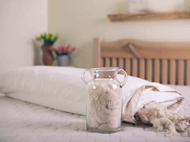 Savvy Rest Kapok Pillow