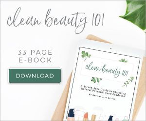 Clean Beauty Workbook