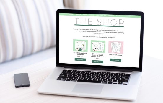 Introducing…The Shop! Green Beauty Resources