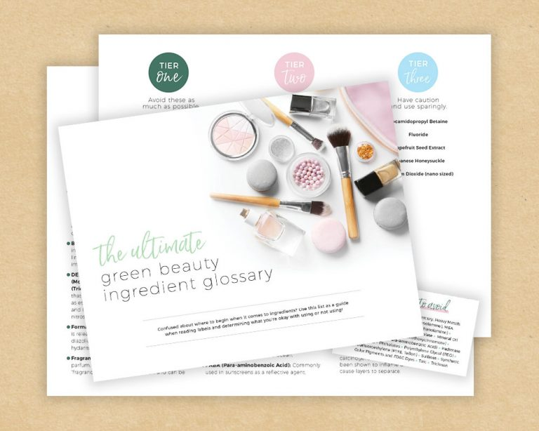 BUNDLE: The Ultimate Green Beauty Ingredient Glossary + Pocket Guides