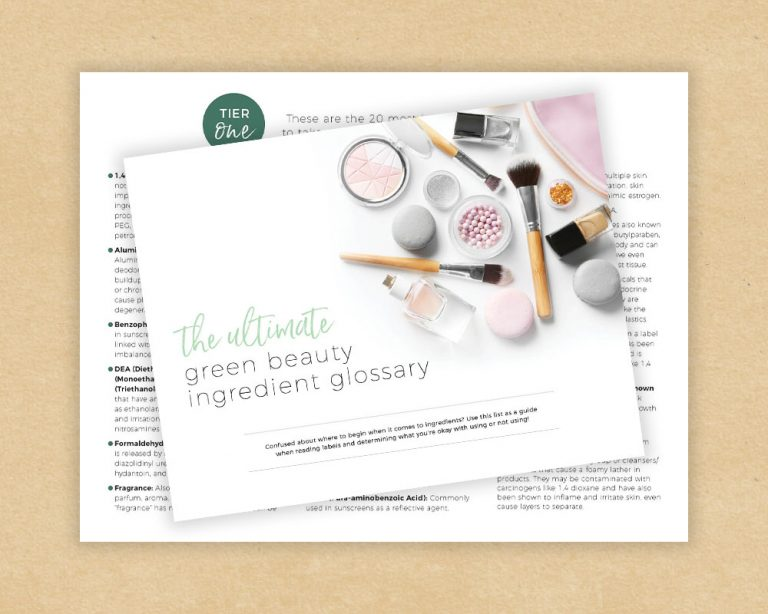The Ultimate Green Beauty Ingredient Glossary