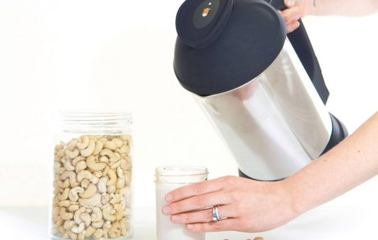 Hassle-Free Homemade Nut + Seed Milk in Minutes!