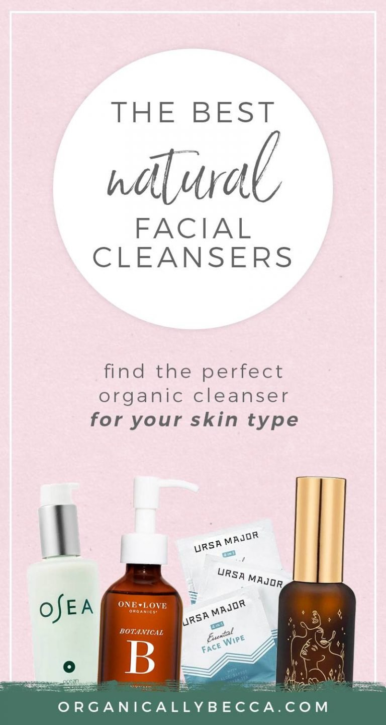 Natural Organic Cleansers