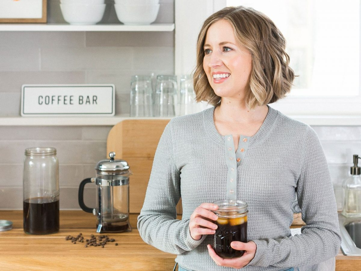 Organically Becca How to Make Cold Brew Coffee at Home