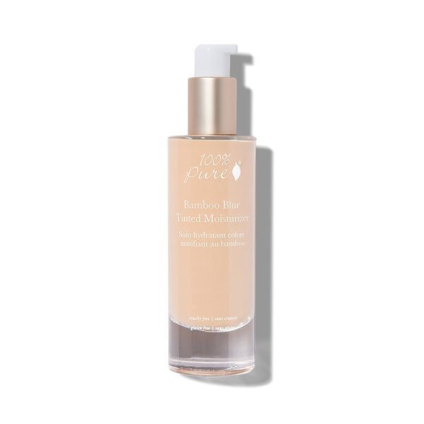 100% Pure Bamboo Blur Matte Liquid Foundations