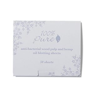 100% Pure Antibacterial Wood Pulp Hemp Oil Blotting Papers