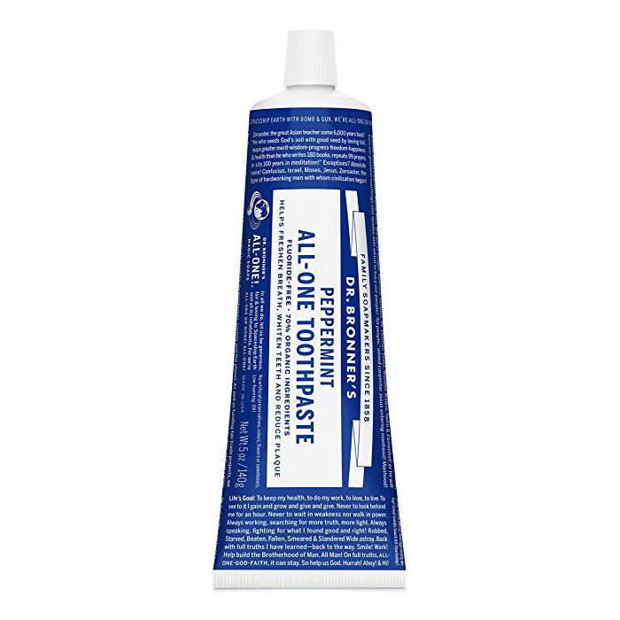 Dr. Bronner's Fluoride-Free Toothpaste