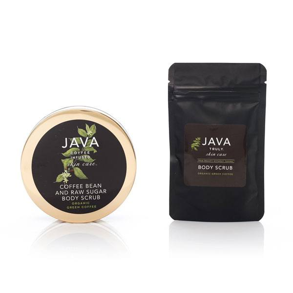 Java Body Scrub