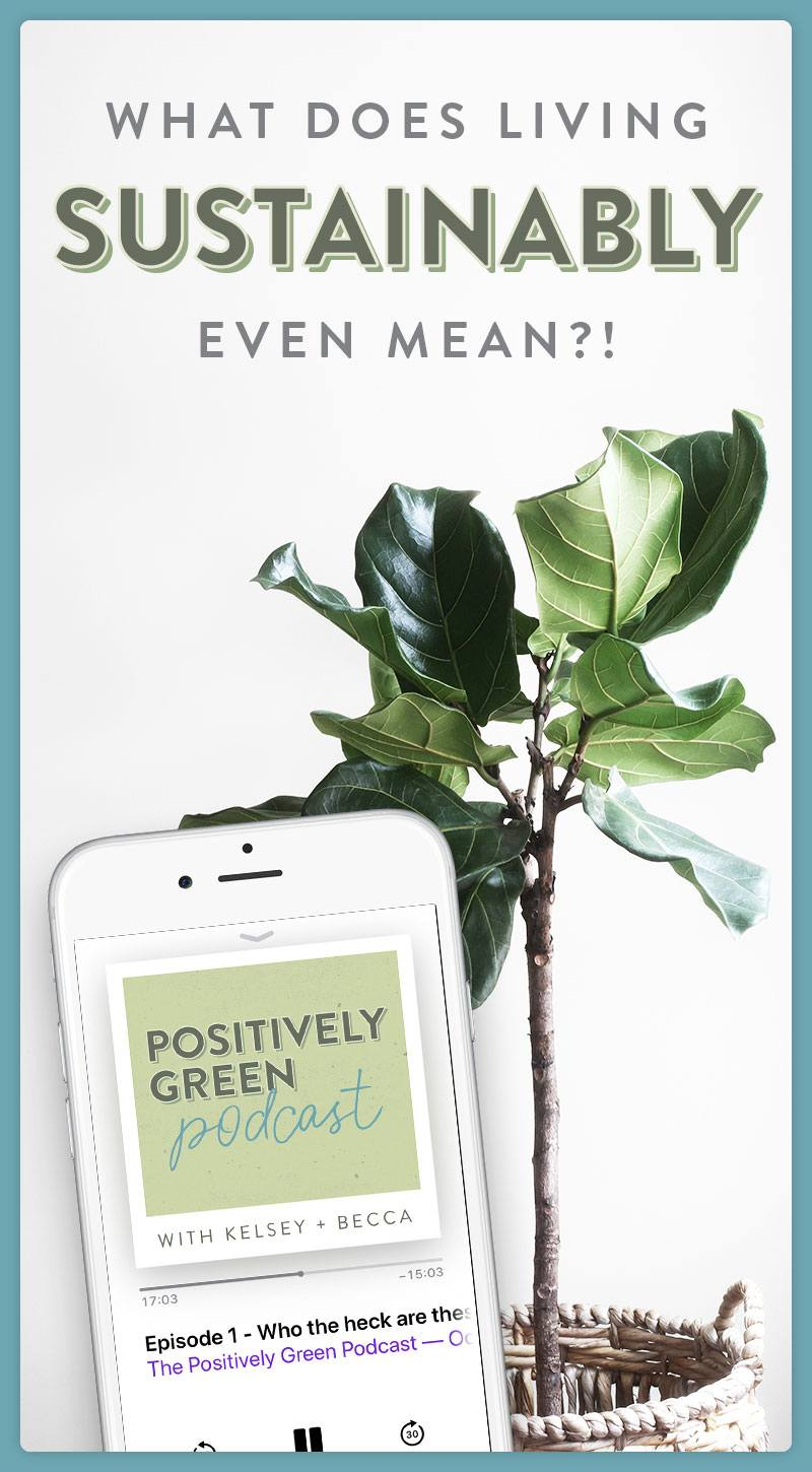 Positively Green Podcast - PIN ME!