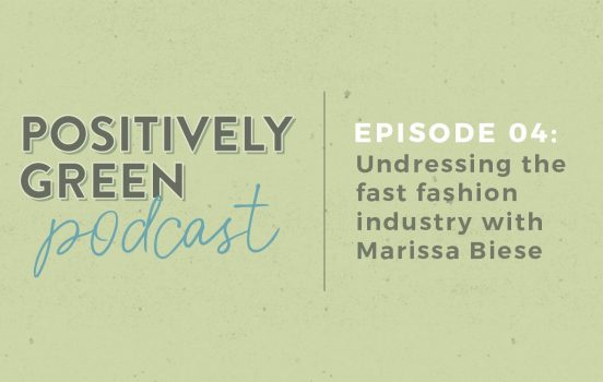 [Podcast Episode 04] Undressing the Fast Fashion Industry with Marissa Biese