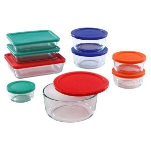Pyrex Glass Containers