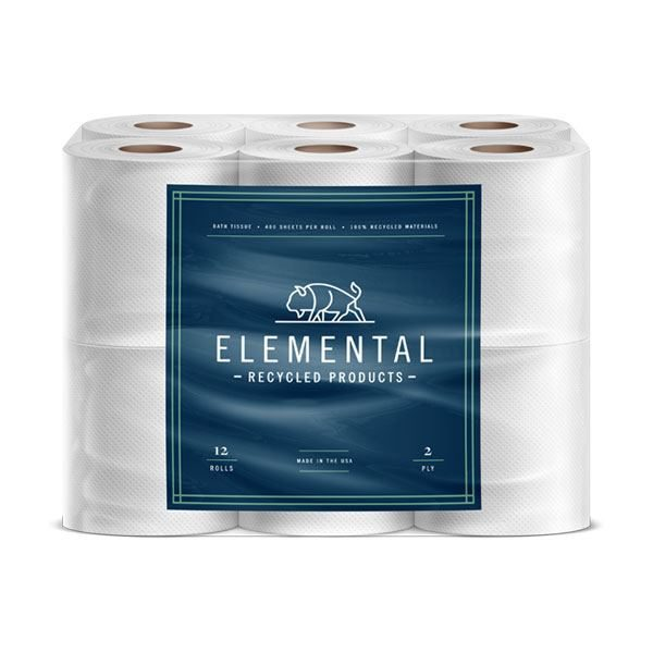 Elemental Recycled Toilet Paper