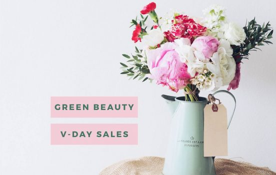 Green Beauty Valentine's Day Sales!