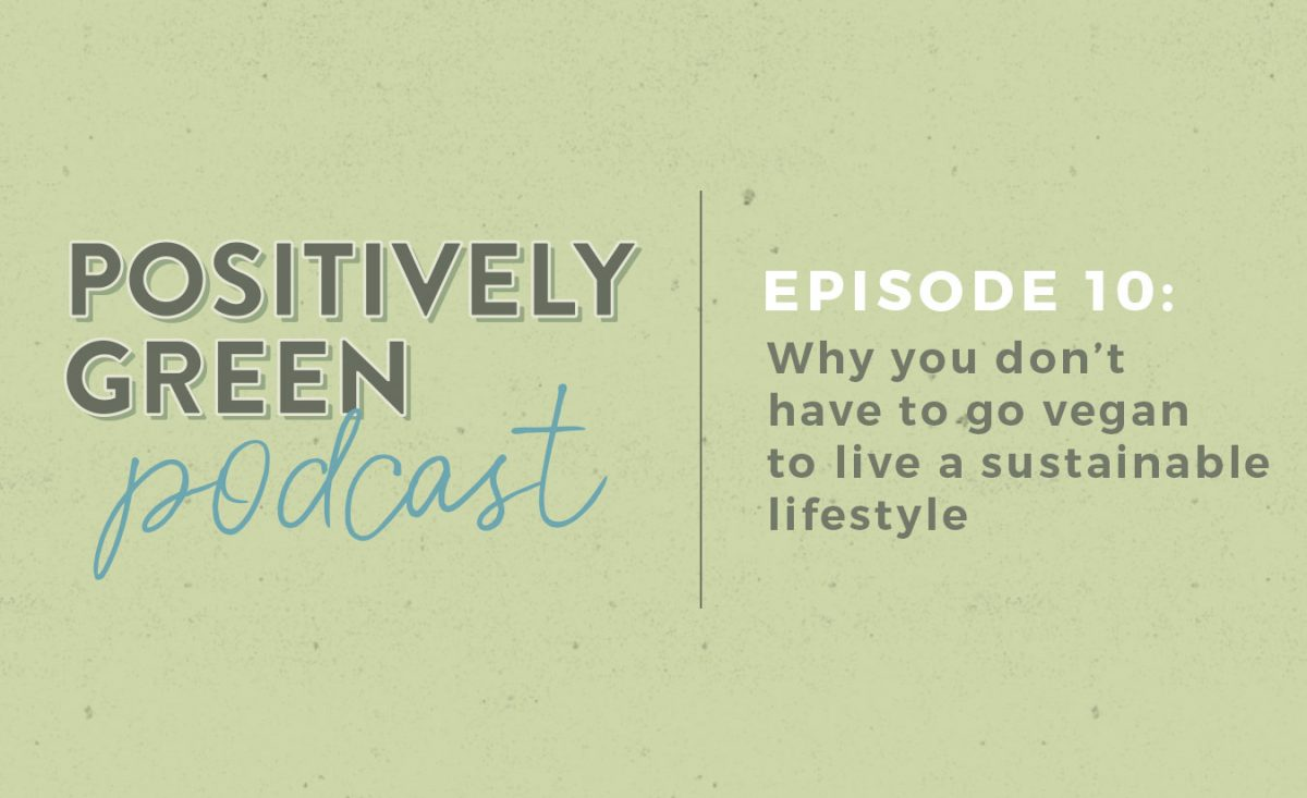 [Podcast Episode 10] Can You Eat Meat + Still Be Sustainable?
