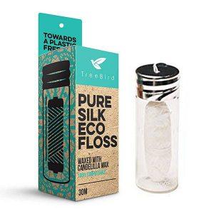 Tree Bird Pure Silk Biodegradable Eco Floss