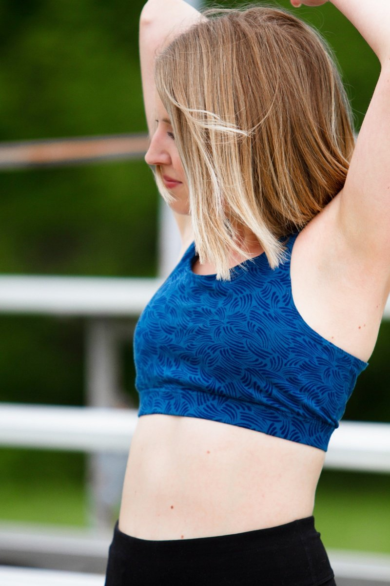 Pact Strappy Back Sports Bra