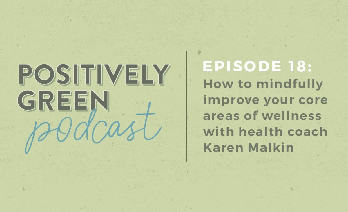 How to mindfully improve your core areas of wellness with integrative health coach Karen Malkin