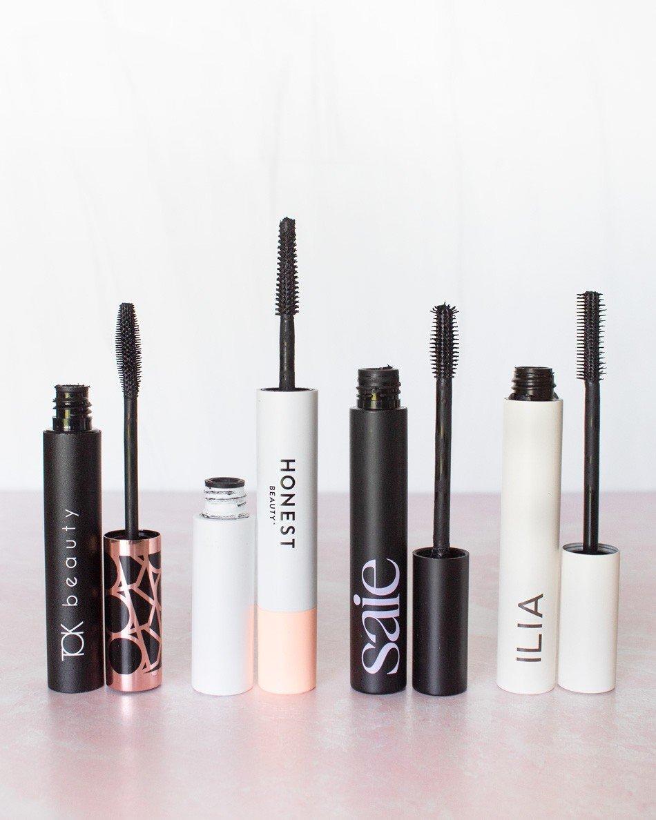 Clean Beauty Mascaras (TOK, Honest, Saie, Ilia)