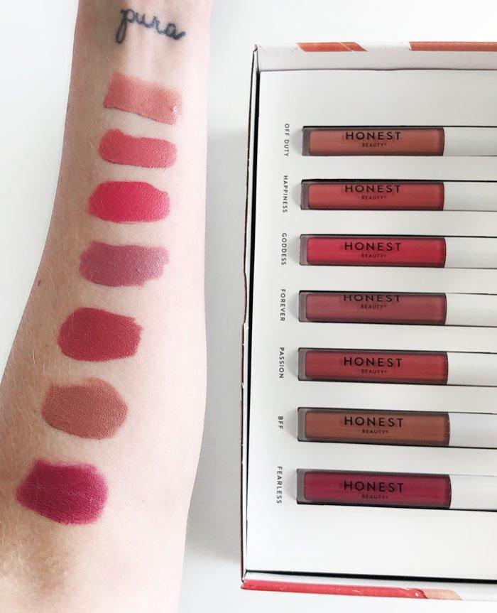 Honest Beauty Liquid Lipsticks