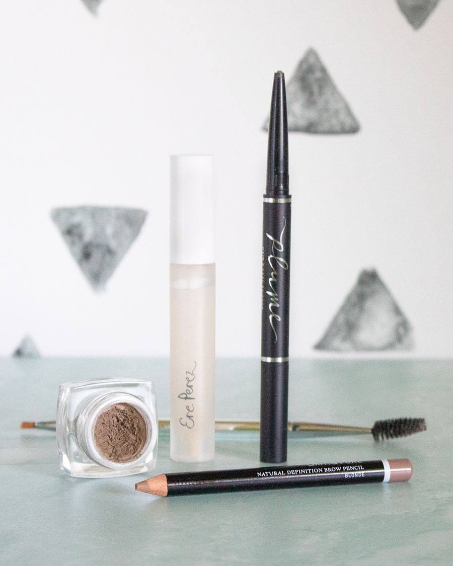 Natural Brow Products (Plume, Ere Perez, Alima Pure)