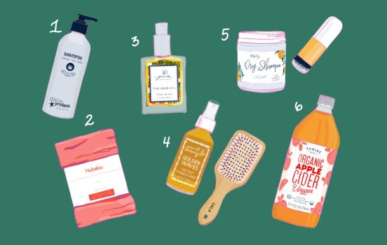 My 6-Step Organic, Low Maintenance Hair Care Routine