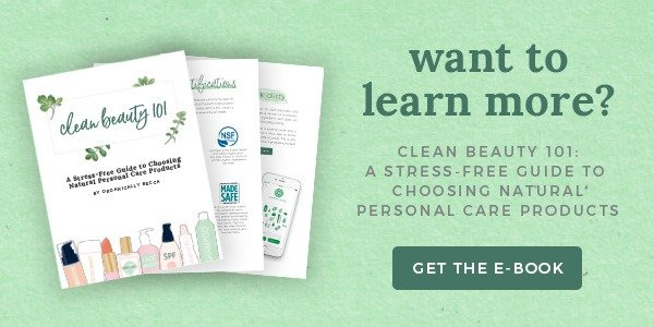 Get the Clean Beauty 101 eBook!