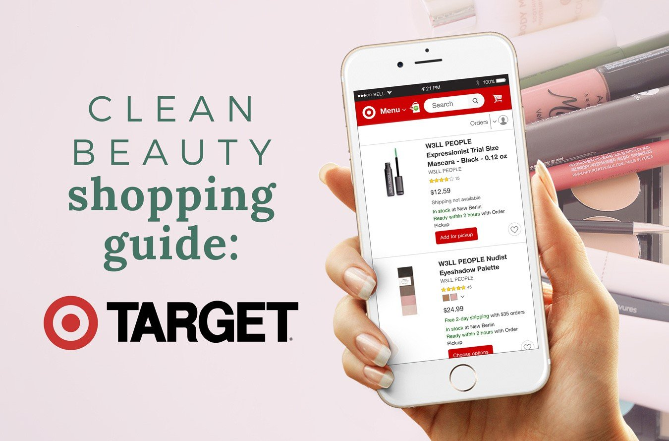 TARGET Shopping Guide: 23+ Clean Beauty Brands [FREE Printable Download]