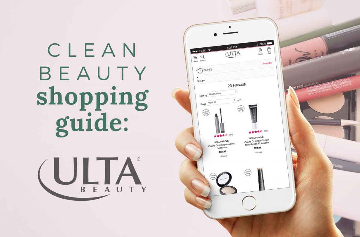 ULTA Shopping Guide: 20+ Clean Beauty Brands [FREE Printable Download!]
